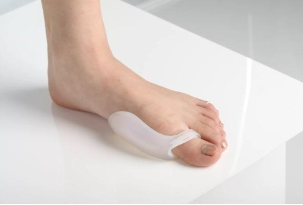 Силиконовый разделитель для пальцев ног от косточки hallus Valgus/Халлюс Вальгус